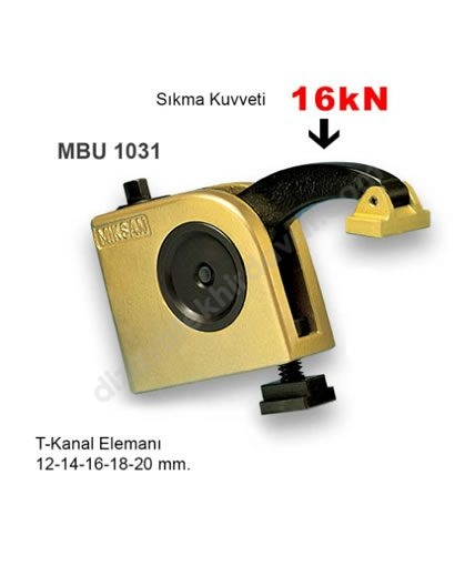Hızlı Bağlama Sistemi MBU-1031 MİKSAN