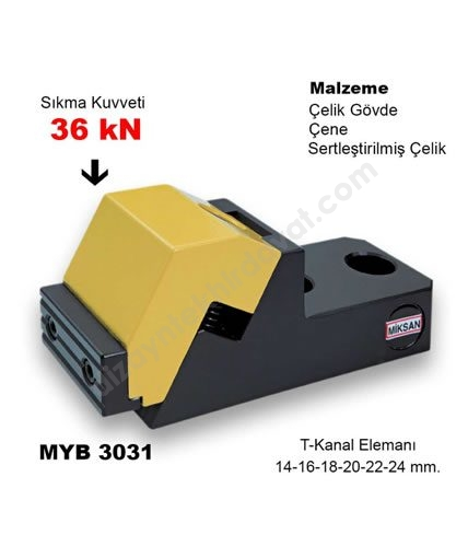 Hızlı Bağlama Sistemi MYB-3031 MİKSAN