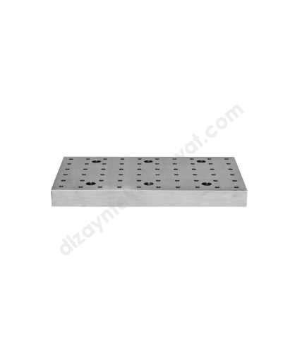 CNC Dik İşleme Pleyti Delikli - 2530-ER-EL