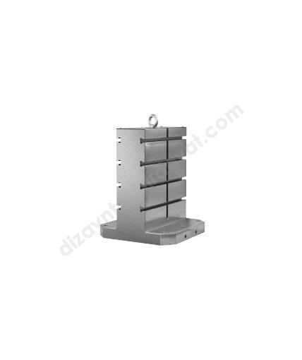 """CNC Yatay İşleme Kulesi (Dikdörtgen) """"T"""" Kanallı - 2690-ER-EL"""