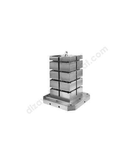 """CNC Yatay İşleme Kulesi (Kare) """"T"""" Kanallı - 2630-ER-EL"""