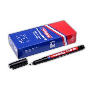 edding 142 M permanent pen - Siyah