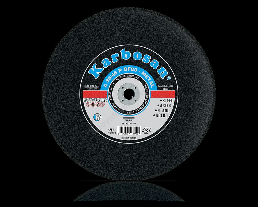 Metal Sabit Tezgah Kesme Diskleri -KARBOSAN