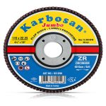 ZR Flap Disk (Jumbo) Zımpara -KARBOSAN