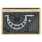 Değiştirilebilir Çubuklu Dış Çap Mekanik Mikrometreler - ASİMETO