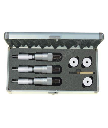 İki Ve Üç Nokta Temaslı İç Çap Mikrometre seti -ASİMETO