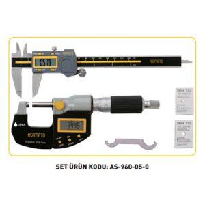 Kumpas Ve Mikrometre Setleri 05 - ASİMETO