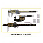 Kumpas Ve Mikrometre Setleri - ASİMETO